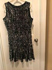 Nic + Zoe XL Black/White Dress - NWOT / Reduced