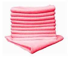 Micro Fibre foulards chiffon à lustrer Chiffon glastuch 40x40cm 10x rouge