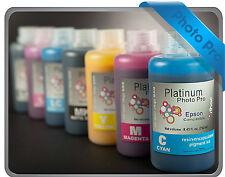 7 x 250ml RIHAC Refill Pigment ink Set to suit Epson Printer 7600 9600