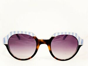 NUOVO OCCHIALI DA SOLE LAFONT MOD: FILM COL: BLU/GREEN COL: SHADED GRAY