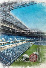 DJIBOUTI 2020 - SOUVENIR SOCCER FOOTBALL LEAGUES INTERRUPTION - PANDEMIC - MNH