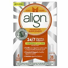 4 Pack Align Digestive Care Probiotic Supplement Capsules 28 Each