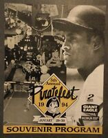 1994 Piratefest 5th Annual Souvenir Program -Roberto Clemente on Cover
