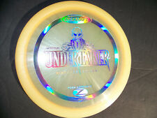 Discraft First Run Stamped Z Undertaker Disc Golf Distance Driver 174G Pearly