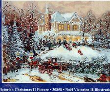 Thomas Kinkade Needlepoint KIT Victorian Christmas II Candamar NIP 30858