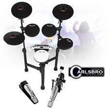 Carlsbro CSD130 Compact Electronic Drum Kit - 5 Piece USB Digital Set Foldable