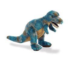NEW   14 Inch Blue T Rex Dinosaur Plush Stuffed Animal by Aurora Tyrannosaurus