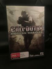 CALL OF DUTY 4 MODERN WARFARE PC GAME AS NEW