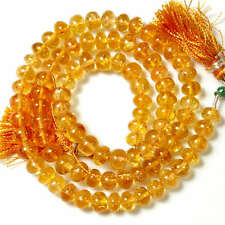 """6-6.2MM Imperial Topaz Smooth Rondelle Bead 16"""" Strand"""