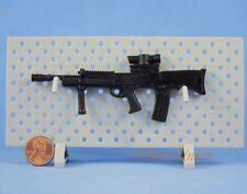 G18 Action Figure 1:6 Scale SA80 L85 L85A2 British Rifle MACHINE GUN MODEL Black