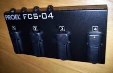 PROEL FCS04 Pedaliera di Comando PedalSwitches FCS 04