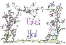 fairies thank you note cards fairy forest girls! cute