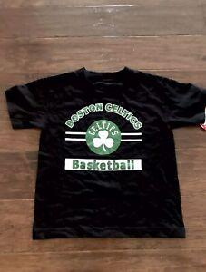 NBA Boston Celtics XL Basketball Black & Green Youth Extra Large Boy's Shirt