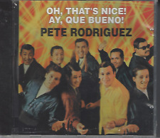 First Pressing FANIA Mega RARE CD Pete Rodriguez OH THAT'S NICE ay que bueno