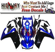 Kit For Yamaha R3 2015 R25 2014 2015 Bodywork ABS Fairings Plastic Black Blue o