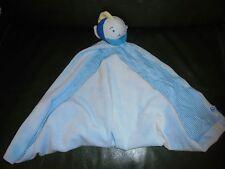 Doudou Mouchoir Poisson Baleine Bleu Vert Grand Mouchoir Carreau Bleu Blanc Neuf