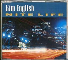 KIM ENGLISH - nite life  RARE 4 trk MAXI CD 1994