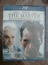 THE MASTER all region BLU RAY Joaquin Phoenix Amy Adams subtitulos español