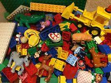 Lego Duplo Starter oder Ergänzungs Paket,Tiere,Figuren,Auto,Steine uvm.1 Kg
