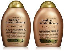 Ogx OrganiX BRASILIANA Cheratina Liscio Shampoo & Balsamo 385 ml / 369ml