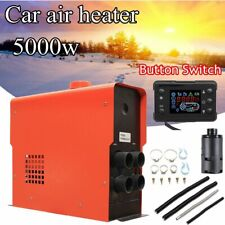 12V Air Diesel Heater 5000W 4 Holes LCD Monitor PLANAR For Trucks Boats Bus Car