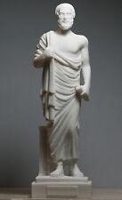 "ARISTOTLE Greek Philosopher & Scientist Cast Marble Statue Sculpture Figure 9.6"""
