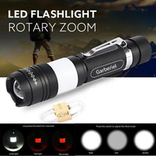 15000Lumens T6 LED USB Rechargeable Flashlight Torch Zoom Lamp Light USA