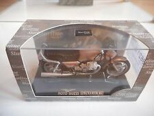 Starline Moto Guzzi 850 T5 in Brown on 1:24 in Box