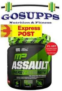 MusclePharm Assault Energy + Strength 30 Servings 345g Pre Workout