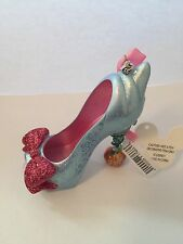 disney parks cinderella fairy godmother christmas shoe ornament new with tags