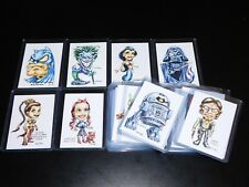 TRADING CARD ART by RAK (HAND SIGNED) - Choice of Card - Free Shipping