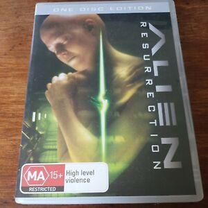 Alien Resurrection  DVD R4 VERY GOOD - FREE POST