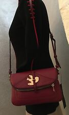 Marc by Marc Jacobs Petal To The Metal Percy Leather Crossbody Bag Merlot NWT