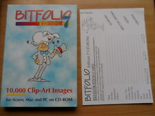New Bitfolio Clipart Edition 7 for Acorn Archimedes RISC OS Computers - CD-ROM