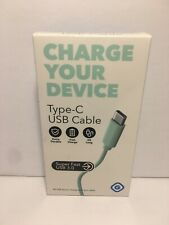 GEMS 3 ft Type C 3.0 USB Charge & Sync Cable, Multiple Colors