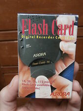 FLASH CARD 112 minutes RECORDER AUDIO VOICE RECORDER Aurora VR 1400 MEMORY