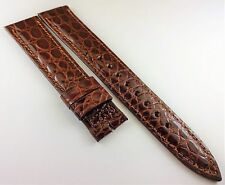 AUTHENTIC HAMILTON GENUINE LEATHER WATCH BAND BROWN 18MM x 16mm