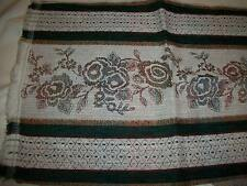 TAPESTRY / UPHOLSTERY  FABRIC 1 PIECE 1/2 YARD FLORAL MULTICOLOR NEW