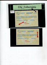 A004  #  MALAYA MALAYSIA (IRC) MINT INTERNATIONAL REPLY COUPON 2 DIFFERENT RM 3
