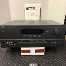 NAD T763 A/V SURROUND SOUND RECEIVER - TESTED - EXCELLENT CONDITION - BUNDLED