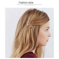 2pcs Paperclip Headwear Bridesmaid Wedding Bobby Hair Pin Barrette Clip Hairpin