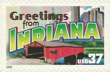 US 3709 Greetings from Indiana 37c single MNH 2002