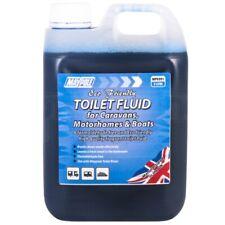 Eco Friendly Toilet Blue Chemical Fluid Portable Caravan Motorhome 2 Litre