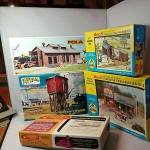 Lot Of 5 Ho Scale Model Kits As In Pics Atlas Minikits Etc opened unchecked box