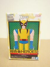 BANDAI Chogokin Heroes Marvel X-Men Wolverine Action Figure 10cm
