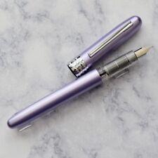 NEW Platinum Plaisir Violet Purple Fountain Pen Medium Nib