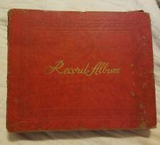 Vintage 45 Album book with 9 records Elvis Hearbreak Hotel 15 sleeves Brenda Lee