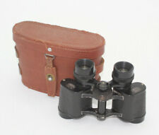 Vintage Lemaire Paris 6x25 Legere Binoculars with Case Pre-Owned Good