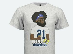 Dallas Cowboys T-Shirt King of the Cowboys of the Hill Vintage Men Gift Tee 2021