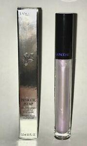 LANCÔME Prismatic Plump Lip Gloss, 01 Effervescent, NIB